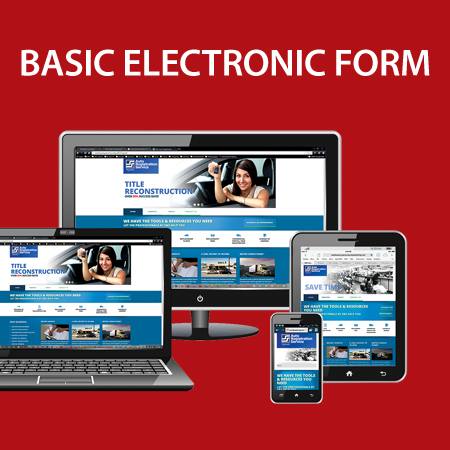 Basic Website Electronic Form