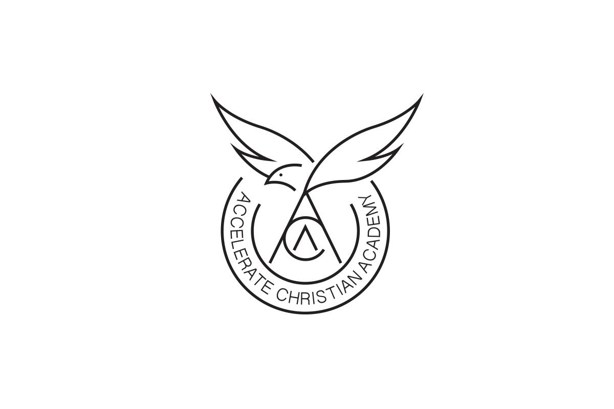 Accelerate-Christian-Academy-Logo-Design-Lakewood
