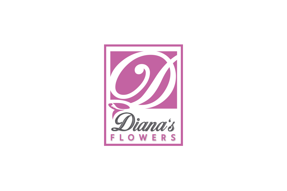 Dianas-Flowers-Logo-Design-Paramount