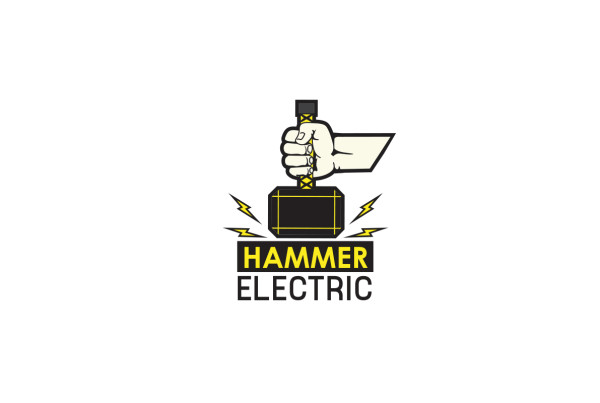 Hammer-Electric-Logo-Design-Downey