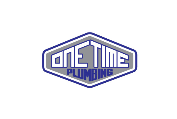 One-Time-Plumbing-Logo-Design-Badge-Long-Beach