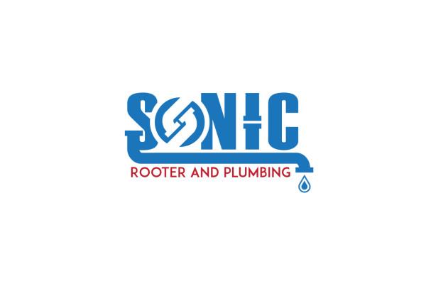 Sonic-Rooter-Plumbing-Logo-Design-Compton